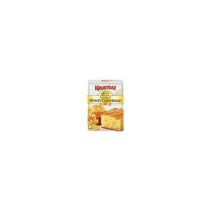 Krusteaz Natural Honey Cornbread & Muffin Mix Boxes 15Oz (Pack Of 24)