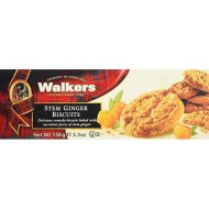 Walkers Stem Ginger Cookies - 5.3 Oz - 2 Pk