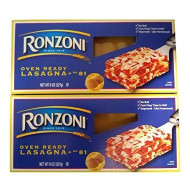Ronzoni Ronzoni No Boil Lasagna Pasta, 8 Oz, Pack Of 2
