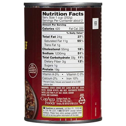 Libby's Corned Beef Hash - 15 oz - 3 Pack