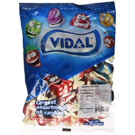 Vidal Jelly Filled Gummy Whales Candy - 2.2 Lb Bag