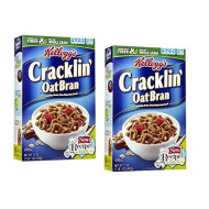 Kellogg'S Cracklin Oat Bran, 17Oz Box (Pack Of 2)
