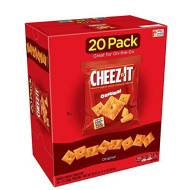 Cheez-It Baked Snack Cheese Crackers, Original, Single Serve, 1 Oz Bags