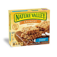 Nature Valley Coconut Crunchy Granola Bars 6 Ct Box 1.49 Ounce 2 Bar Pouches