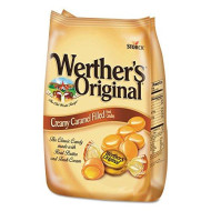Werther'S Original 39870 Hard Candies, Caramel W/Caramel Filling, 30 Oz Bag