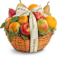 Golden State Fruit Orchard Favorites Gift Basket, Sympathy