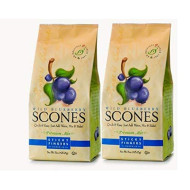 Sticky Fingers Scone Mix (Pack Of 2) 15 Ounce Bags All Natural Scone Baking Mix (Wild Blueberry)