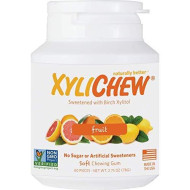 Xylichew - Naturally Better Sugar-Free Chewing Gum, Fruit - 60 Pieces