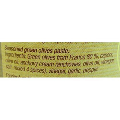 Delices Du Luberon Green Olive Tapenade