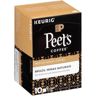 Peet'S Coffee Brazil Minas Naturais Blend Single Cup Coffee For Keurig K-Cup brevers 40 Count