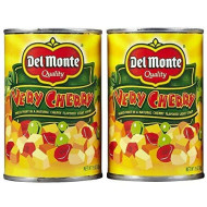 Delmonte Very Cherry Mixed Fruit In Light Syrup (Pack Of 2) 15 Oz Cans