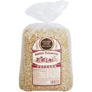 Amish Country Popcorn - Medium White (6 Pound Bag) Popcorn Kernels With Recipe Guide, Old Fashioned, Non Gmo, Gluten Free, Microwaveable, Stovetop And Air Popper Friendly