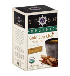 Nature'S Guru Instant Classic Chai Tea Drink Mix, Sweetened, 10 Count Single Serve On-The-Go Drink Packets