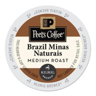Peet'S Coffee & Tea Coffee Brazil Minas Naturals K-Cup Portion Pack For Keurig K-Cup brevers, 22 Count