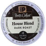 Peet'S Coffee & Tea House Blend K-Cup Pack For Keurig K-Cup brevers, 22 Count