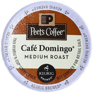 Peet'S Coffee & Tea Cafe Domingo K-Cup Portion Pack For Keurig K-Cup brevers, 22 Count