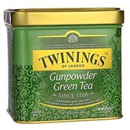 Twinings Of London Loose Gunpowder Green Tea, 3.53 Ounce Tin