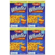 Stauffer'S, Whales, Baked Cheddar Snack Crackers, 7Oz Box (Pack Of 4)
