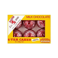 Tunnock's Milk Chocolate Teacakes (6 per pack - 144g)