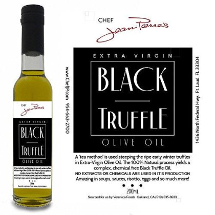Black Truffle Oil Super Concentrated 200Ml (7Oz) 100% Natural No Artificial Anything