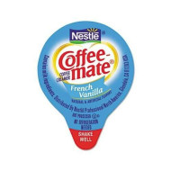 """Coffee-Mate - Liquid Coffee Creamer Mini Cups French Vanilla 180/Box """"Product Category: Breakroom And Janitorial/Beverages & Snack Foods"""""""