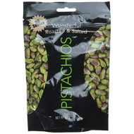 Wonderful Shelled Pistachios Roasted &Amp; Salted 6 Oz