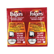 "Folgers - Coffee Classic Roast Regular 9/10Oz Vacket Pack 42/Carton ""Product Category: Breakroom And Janitorial/Beverages &Amp; Snack Foods"""