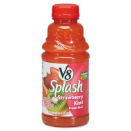 Campbell'S - V-8 Splash, Strawberry Kiwi, 16Oz Bottle, 12/Box 14655 (Dmi Bx