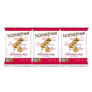 Homefree Treats You Can Trust Gluten Free Mini Chocolate Chip Cookie, Single Serve Bag, 1.1 Ounce (Pack Of 30)