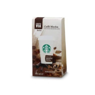 Starbucks Via Coffee Singles Latte Cafe Mocha