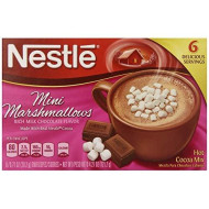 Nestle Hot Cocoa Mini Marshmallows Mix, 0.71 Ounce, 6 Count  (Pack Of 12)