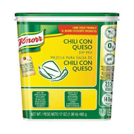 Knorr Chili Con Queso Dip Mix, 1.06 Pound - 6 Per Pack -- 1 Each.