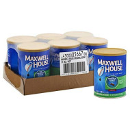 Maxwell House Original Decaffeinated Coffee, 11 Ounce - 6 Per Case.