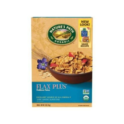 Nature's Path Flax Plus Cereal 13.25 Oz (Pack of 6)