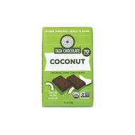 Taza Chocolate | Amaze Bar | Coco Besos Coconut | 70% Stone Ground | Certified Organic | Non-Gmo | 2.5 Ounce (1 Count)