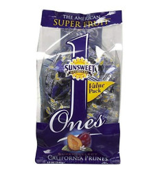 Sunsweet Ones California Prunes, 12 Ounce (Pack Of 3)