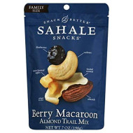 Sahale Snacks Berry Macaroon Almond Fruit And Nut Mix, 7 Ounce - 4 Per Case.