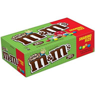 M&M'S Crispy Chocolate Candy Sharing Size 2.83-Oz. Pouch, 24-Count Box