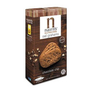 Nairn'S Gluten Free Oat Grahams, Chocolate Chip, 5.64 Ounce