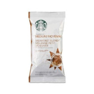 Starbucks Pre-Ground Drip Brewing Coffee Portion Pack - Breakfast Blend - Medium - 18 / Box