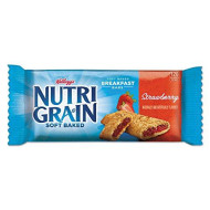 Kelloggs Nutri-Grain Cereal Bars - Low Fat - Strawberry - 16 / Box