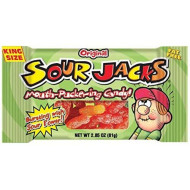 Sour Jacks Sour Candies Original, 24 Count , 2 Ounce Each