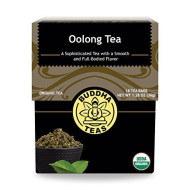 Organic Oolong Tea, 18 Bleach-Free Tea Bags Rich In Vitamins And Minerals And A Natural Source Of Antioxidants, No Gmos