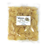 Yankeetraders Brand, Crystallized Ginger Slices, Imported Dried Fruit, 2 Lbs