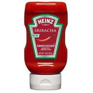 Heinz Ketchup, Blended With Sriracha Flavor, 14 Ounce Easy Squeeze Bottle(Pack Of 6)