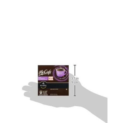 Mccafe Coffee On Demand Single Serve French Bold Dark Roast 4.12 Ounce (Pack Of 2)