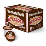 Tootsie Roll Hot Cocoa Flavored Single Serve K Cups - 12 Count