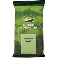 Green Mountain Coffee Roasters 5531 Colombian Supremo Decaf Coffee Fraction Packs, 2.2Oz, 50/Carton