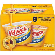 Velveeta Shells And Cheese Original Single Serve Cups, 2.39 Ounce, 8 Count