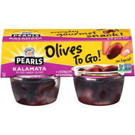 Pearls Olives To Go! 1.4 Oz. Pitted Kalamata Olives, 24-Cups